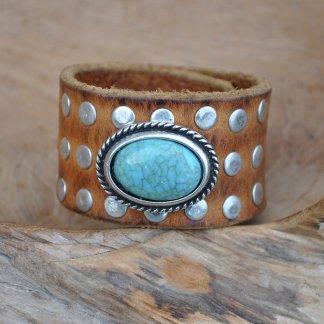 Waitz bohemian leather bracelets 35 mm/1,57 inch women collection 2021