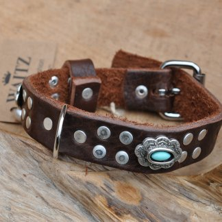 Waitz Bohemian leather Dog Collars 2020