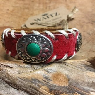 Waitz leather bracelet 25mm/1 inch Women collection 2018
