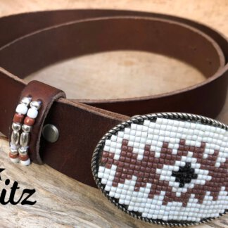 Waitz bohemian 35 mm belts collection Women-HD (decorated buckle-undecorated belt)