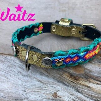 Waitz Bohemian leather Dog Collars & leashes 2021